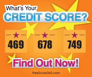 FreeScore.com Display ad