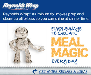 Reynolds Wrap Display ad